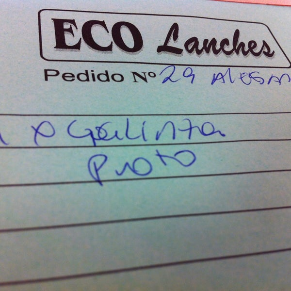 Foto diambil di Eco Lanches oleh Alessandro P. pada 6/7/2013