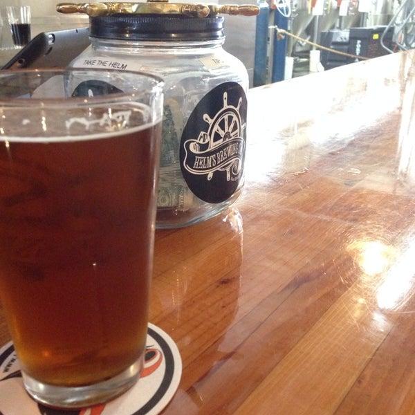 Foto diambil di Helm's Brewing Co. oleh Tawny pada 5/8/2014