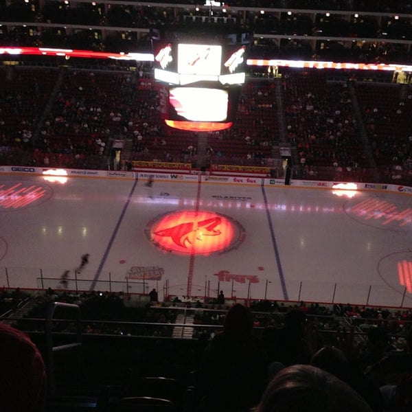 Photo prise au Gila River Arena par Brian L. le1/29/2013