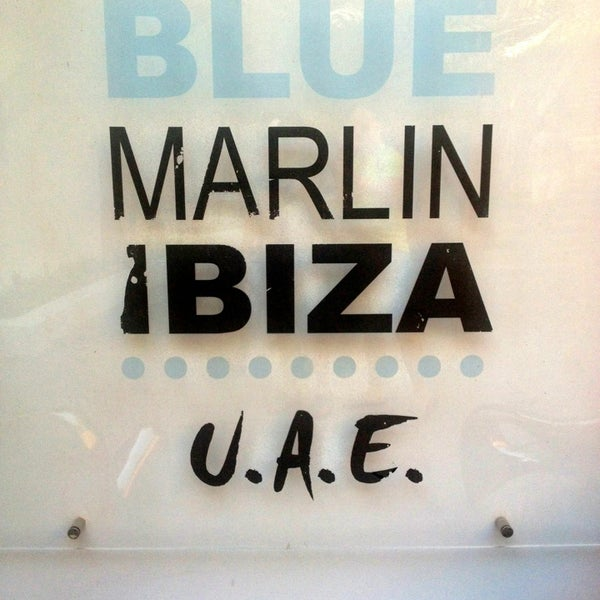 Foto tirada no(a) Blue Marlin Ibiza por Jose B. em 4/20/2013