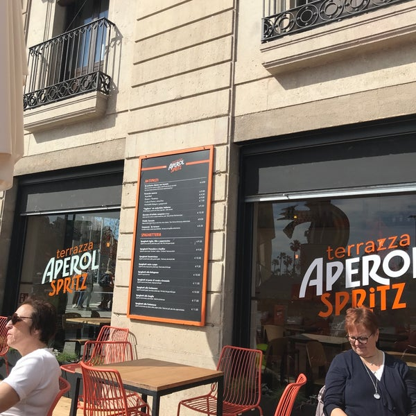 Photos At Aperol Spritz Bar Cocktail Bar In Barcelona