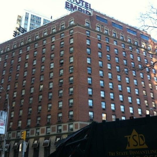 Снимок сделан в The Empire Hotel пользователем Ana Helena G. 2/3/2012
