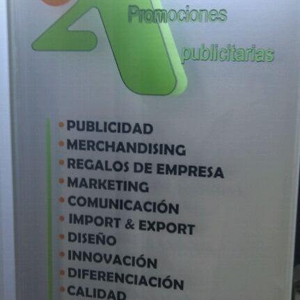 Foto tomada en 2A Promociones Publicitarias por Joaquín D. el 9/22/2011
