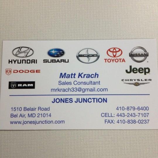 Jones Junction Bel Air >> Jones Junction Building