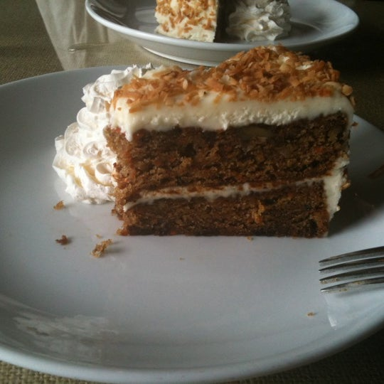 Delicious carrot cake. Make sure to try it!