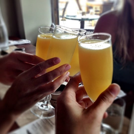 Unlimited Mimosa a must at brunch!