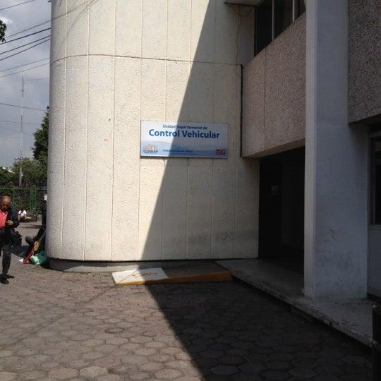 Control Vehicular Santa Cruz Atoyac Delegación Benito Juárez