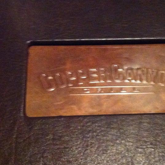 6/2/2012にAntoine D.がCopper Canyon Grillで撮った写真