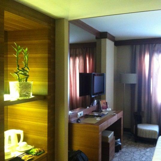Das Foto wurde bei Grand Hotel Gaziantep von Kıvanç D. am 6/22/2012 aufgenommen
