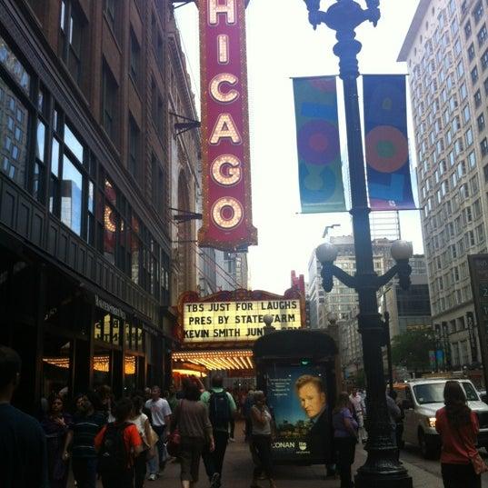 6/15/2012에 Stef R.님이 The Chicago Theatre에서 찍은 사진