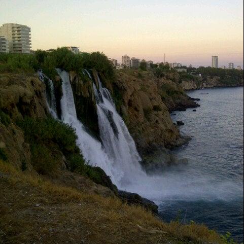 8/31/2012 tarihinde Aslihan C.ziyaretçi tarafından Düden Şelalesi'de çekilen fotoğraf