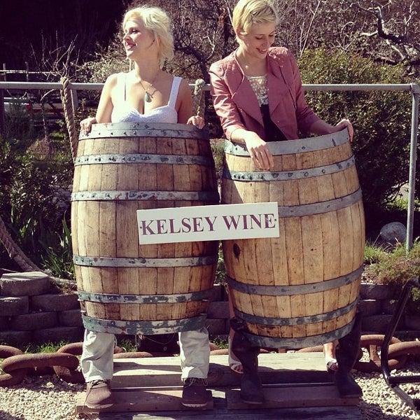 Das Foto wurde bei Kelsey See Canyon Vineyards von RASMUS am 3/3/2013 aufgenommen