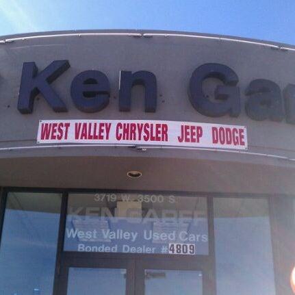 Ken Garff Used >> Ken Garff West Valley Used West Valley City Ut