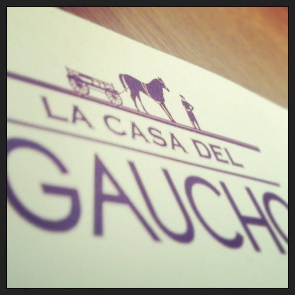 Foto tirada no(a) La Casa del Gaucho por Alena S. em 2/26/2013