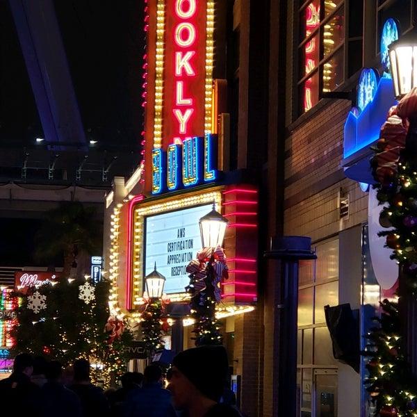 12/5/2019 tarihinde ᴡ M.ziyaretçi tarafından Brooklyn Bowl Las Vegas'de çekilen fotoğraf