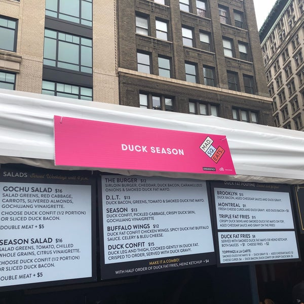Foto tomada en Mad. Square Eats  por Chris F. el 9/13/2018