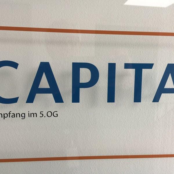 Photo prise au CAPITA (ehemals 3C Dialog) par Walter le10/6/2017