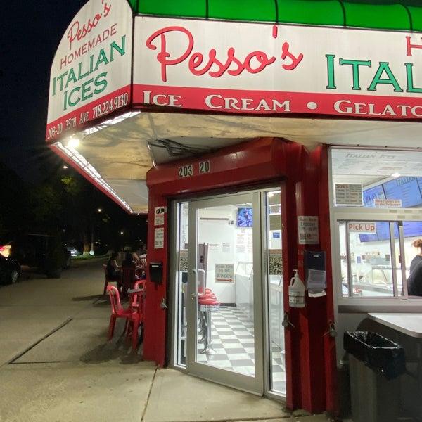Photo prise au Pesso's Ices & Ice Cream par John le7/21/2021