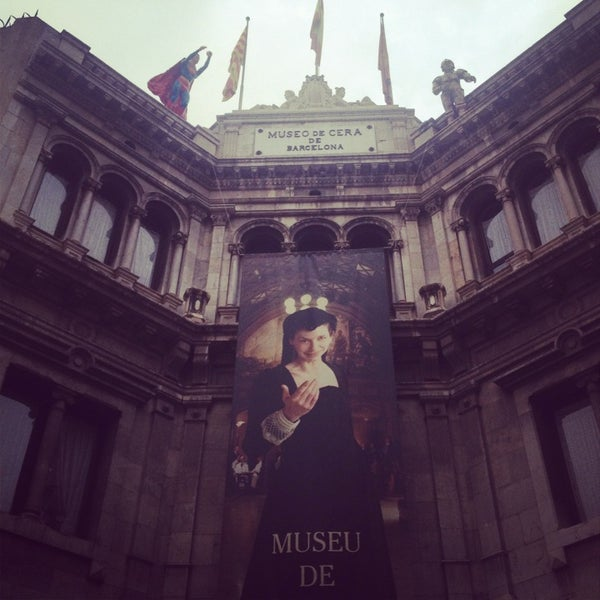 7/2/2013にSinem G.がMuseu de Cera de Barcelonaで撮った写真