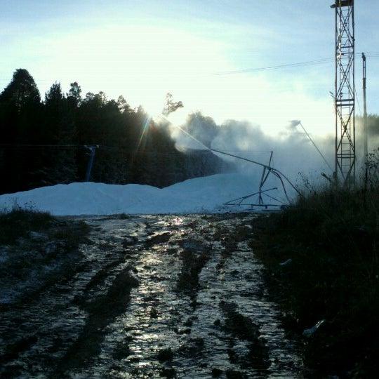 Снимок сделан в ГЛК Гора Пильная пользователем Vitaliy 10/31/2012