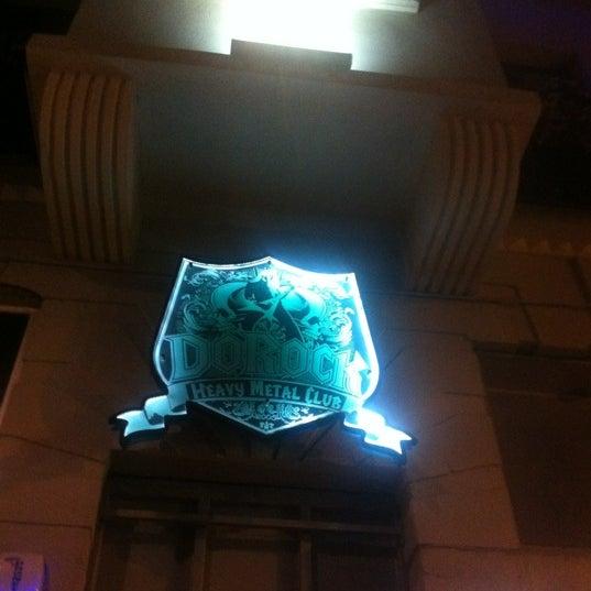 Das Foto wurde bei Dorock Heavy Metal Club von Evrim am 10/16/2012 aufgenommen