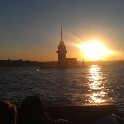 9/23/2012 tarihinde Naciye Ç.ziyaretçi tarafından Kız Kulesi'de çekilen fotoğraf