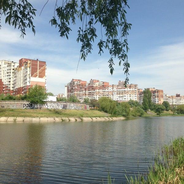 รูปภาพถ่ายที่ Троєщинський канал โดย Julia P. เมื่อ 5/10/2013