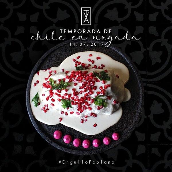 La mejor temporada en Puebla, en el preferible restaurante conceptual donde se le hace un homenaje a la industria textil de Puebla . Vívelo .