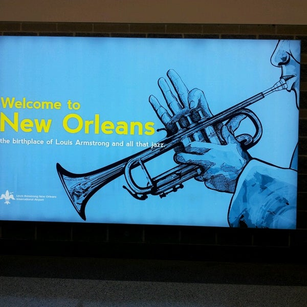 Foto scattata a Louis Armstrong New Orleans International Airport (MSY) da Rodrigo M. il 3/16/2013