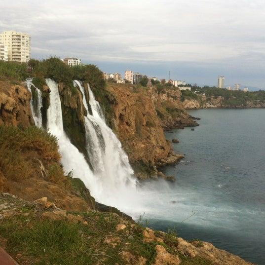 10/25/2012 tarihinde Esra T.ziyaretçi tarafından Düden Şelalesi'de çekilen fotoğraf
