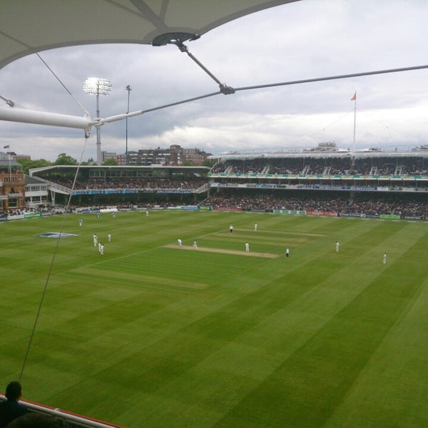 Foto tomada en Lord's Cricket Ground (MCC)  por Andrew F. el 5/17/2013