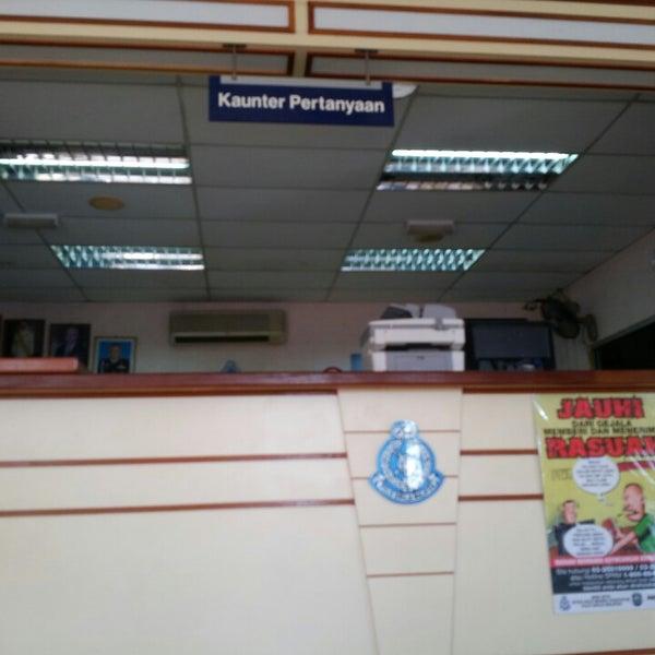 Kaunter Pejabat Pertanyaan Tebedu Sarawak