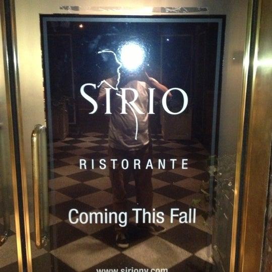 Foto diambil di Sirio Ristorante oleh Paul pada 10/6/2012