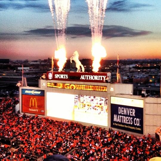 Foto diambil di Broncos Stadium at Mile High oleh Bluto H. pada 12/3/2012