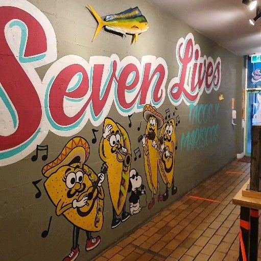Photo prise au Seven Lives - Tacos y Mariscos par Gabriel S. le10/25/2020