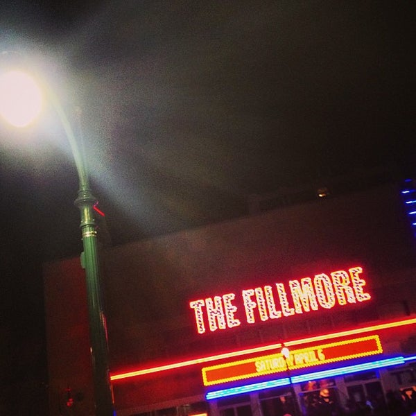 Photo prise au The Fillmore par Keith E. le4/7/2013