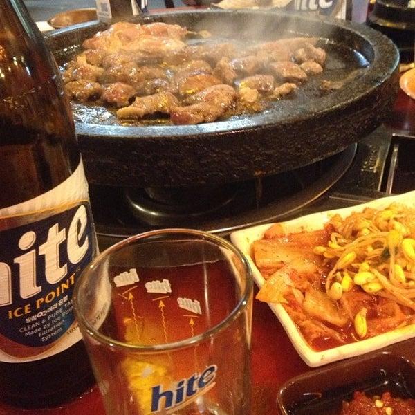 Foto scattata a Hae Jang Chon Korean BBQ Restaurant da 420 il 12/13/2012