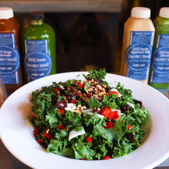 """Completely organic and raw as raw can be, the fare at Gingersnap's Organic proffers an exciting mix of flavors that quash any doubt about uncooked food."""