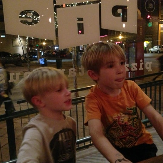 Photo taken at Lucky Pie Pizza & Tap House by Chris S. on 12/1/2012