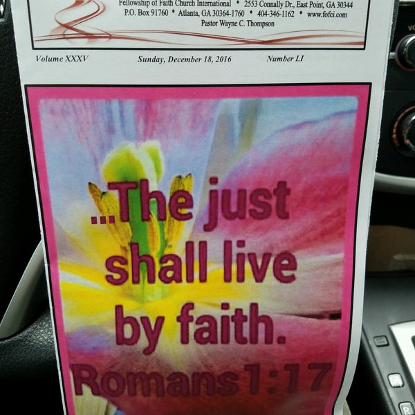 Photos at Fellowship Of Faith Church International - 1 tip