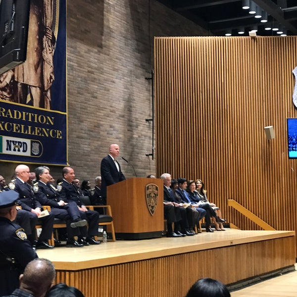 Photo taken at One Police Plaza  - NYPD Licensing Division by alice l. on 3/31/2017