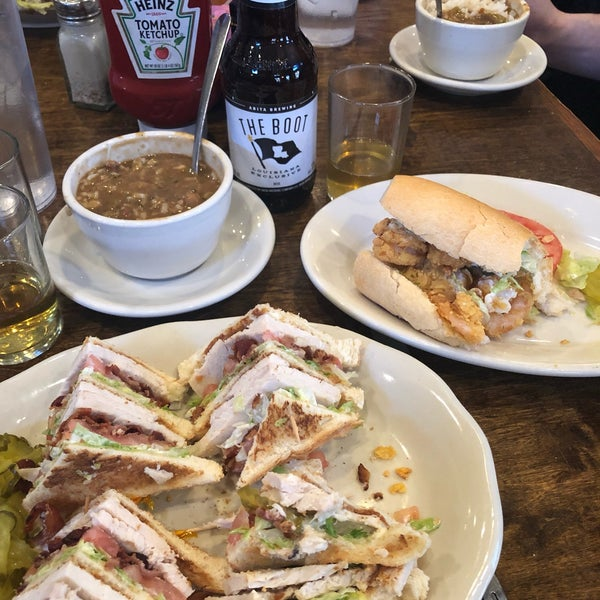 Delicious gumbo and poboys! Friendly and efficient staff even when they're exhausted after Mardi Gras. It wasn't a planned stop so it was a pleasant surprise!