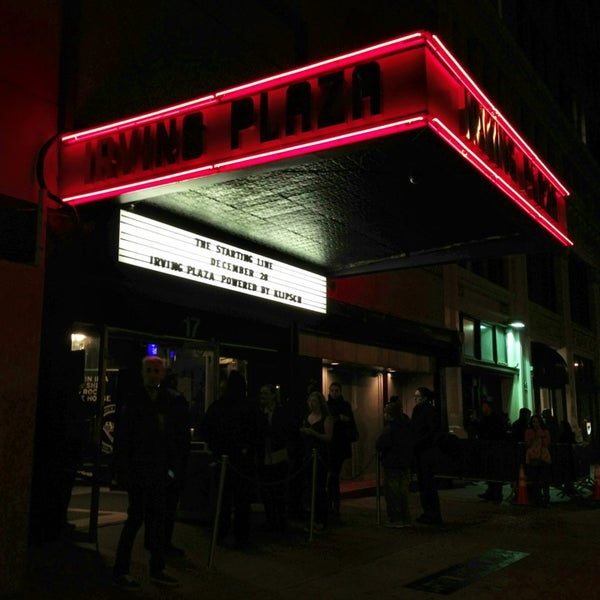 Photo prise au Irving Plaza par @irabrianmiller le12/29/2012