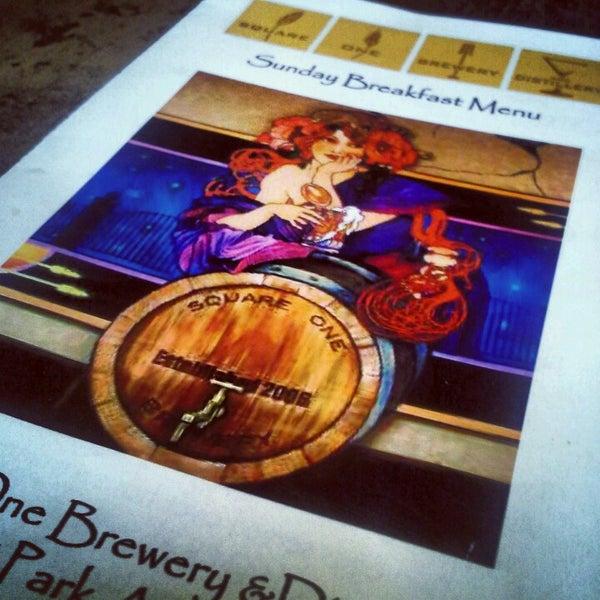 Das Foto wurde bei Square One Brewery & Distillery von John C. am 11/11/2012 aufgenommen