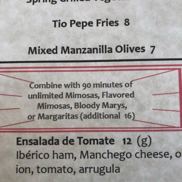 Снимок сделан в Tio Pepe Restaurant пользователем Austin L. 3/16/2019