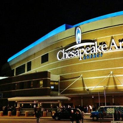 Das Foto wurde bei Chesapeake Energy Arena von Nauzder L. am 1/9/2013 aufgenommen