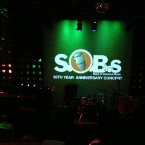 Снимок сделан в S.O.B.'s пользователем Claudio 11/18/2012