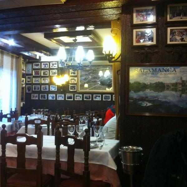 Das Foto wurde bei Restaurante Salamanca von Anna T. am 3/2/2013 aufgenommen