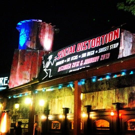 12/14/2012にManny E.がHouse of Blues Sunset Stripで撮った写真