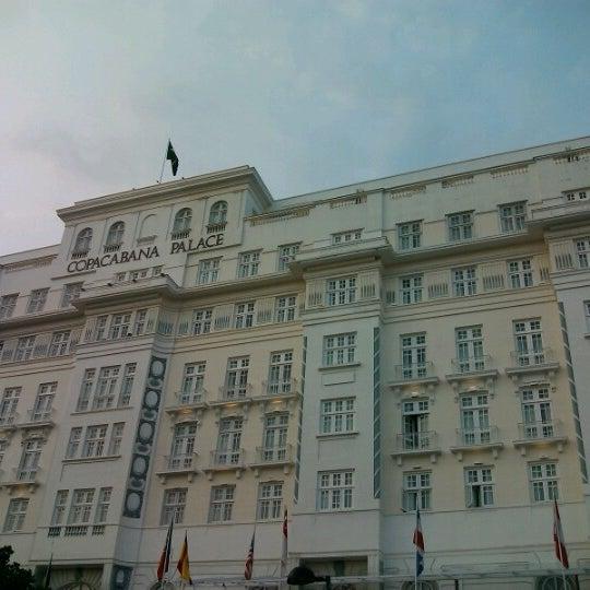 12/27/2012에 Rafael O.님이 Belmond Copacabana Palace에서 찍은 사진